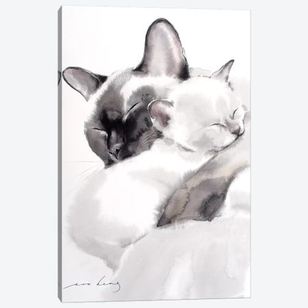 Togetherness II Canvas Print #LIM106} by Soo Beng Lim Canvas Wall Art