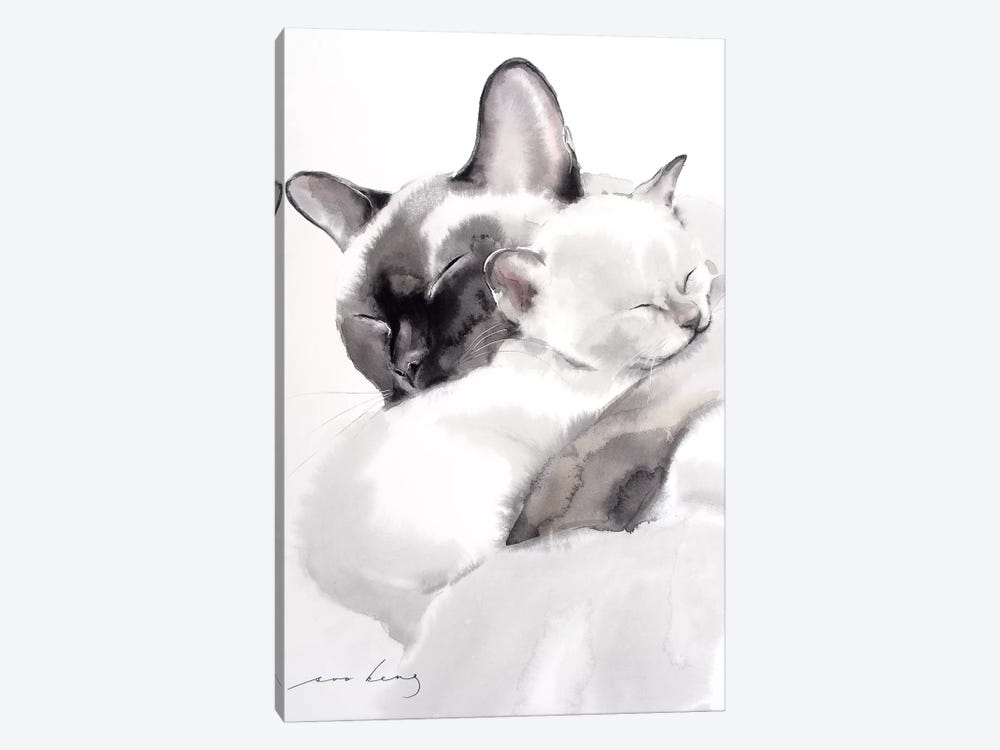 Togetherness II by Soo Beng Lim 1-piece Canvas Art Print
