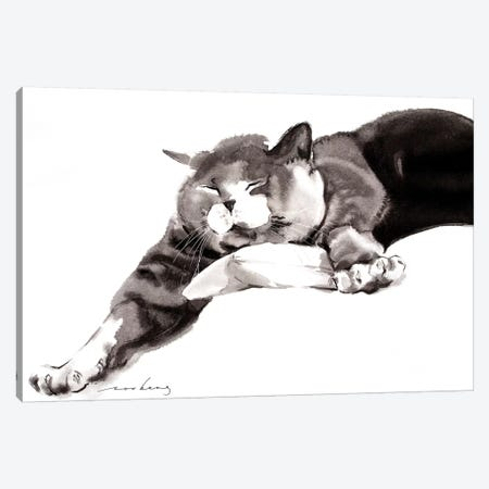 Waking Stretch Canvas Print #LIM108} by Soo Beng Lim Canvas Print