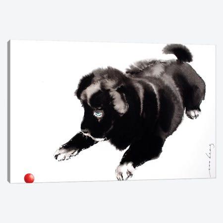 Yang Pup I Canvas Print #LIM114} by Soo Beng Lim Art Print