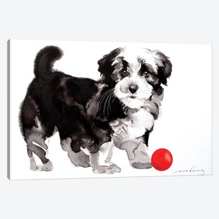 Yang Pup II Canvas Print #LIM115} by Soo Beng Lim Canvas Print
