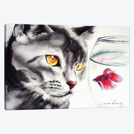 Yin and Yang III Canvas Print #LIM117} by Soo Beng Lim Canvas Print