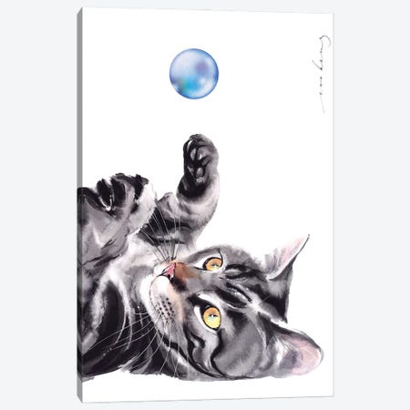 Bubble Delight Canvas Print #LIM123} by Soo Beng Lim Art Print