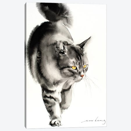 Catwalk V Canvas Print #LIM127} by Soo Beng Lim Canvas Art