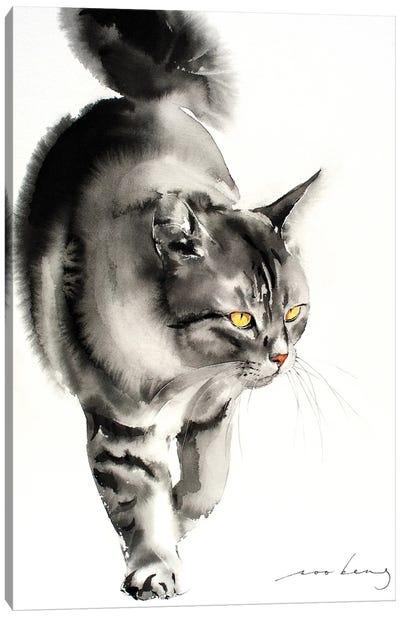 Catwalk V Canvas Art Print