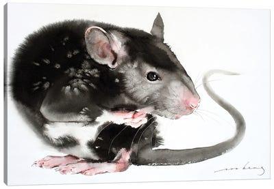 Mouse Instinct Canvas Art Print