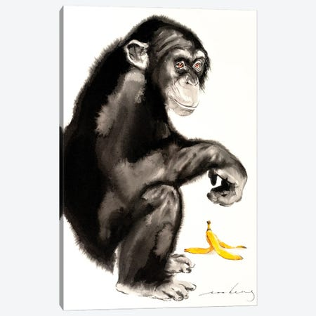 Naughty Corner II Canvas Print #LIM133} by Soo Beng Lim Canvas Artwork