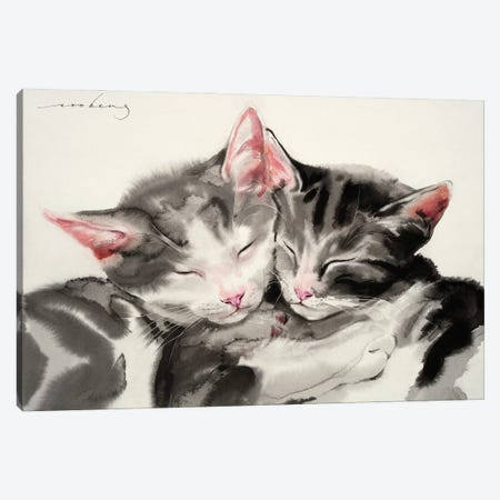 Peaceful Slumber II Canvas Print #LIM135} by Soo Beng Lim Canvas Print