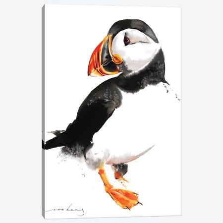 Puffin Canvas Print #LIM139} by Soo Beng Lim Canvas Artwork