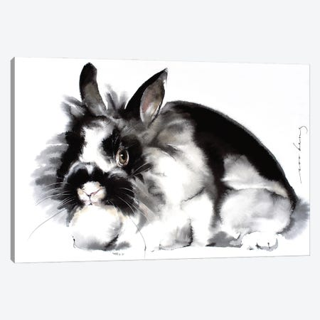 Rabbit 3-Piece Canvas #LIM140} by Soo Beng Lim Canvas Print