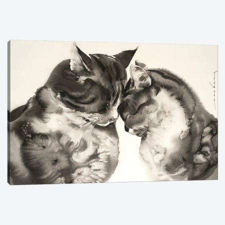 Tender Love Canvas Print #LIM143} by Soo Beng Lim Canvas Art Print