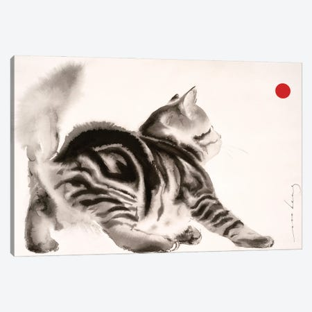 To Catch A Ball II Canvas Print #LIM145} by Soo Beng Lim Canvas Artwork