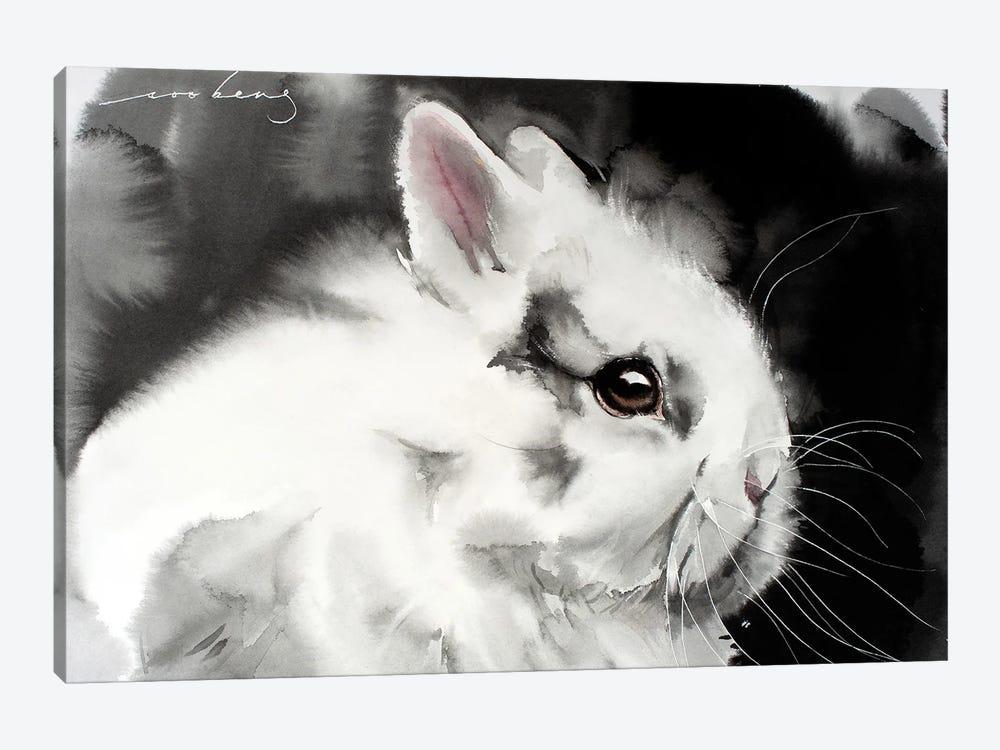 White Rabbit by Soo Beng Lim 1-piece Canvas Print