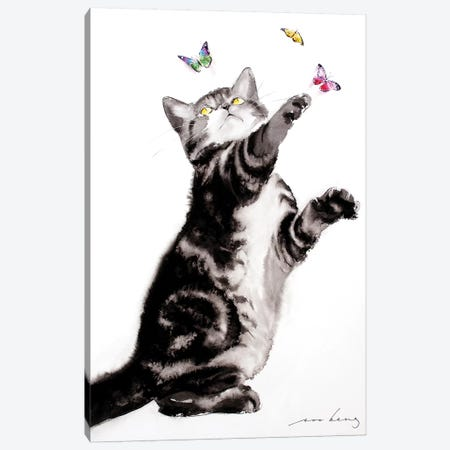 Butterfly Effect Canvas Print #LIM14} by Soo Beng Lim Canvas Print