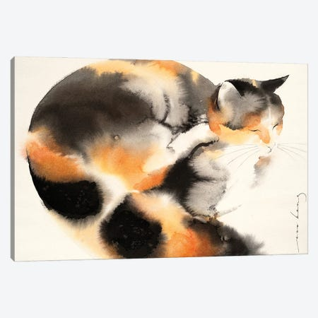 Grooming Session Canvas Print #LIM150} by Soo Beng Lim Canvas Wall Art