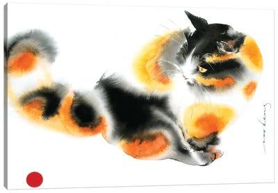 Gingery Cat Canvas Art Print