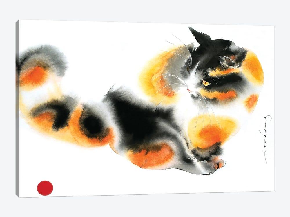 Gingery Cat by Soo Beng Lim 1-piece Art Print
