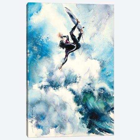 Paradise Surf Canvas Print #LIM157} by Soo Beng Lim Canvas Print