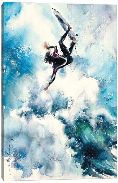 Paradise Surf Canvas Art Print