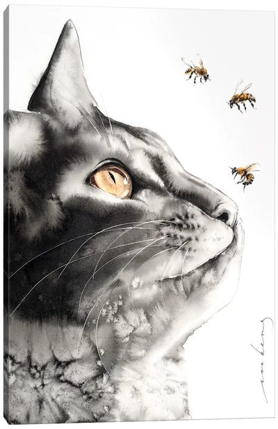 Buzzz.. Canvas Art Print