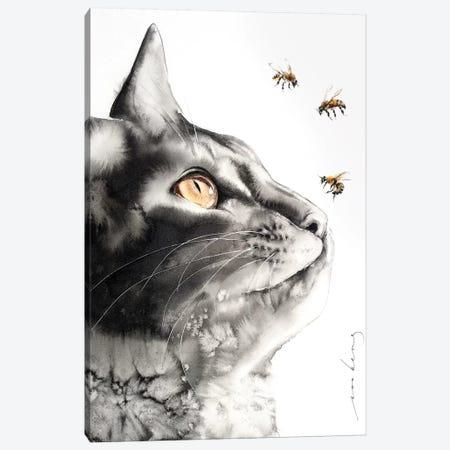 Buzzz.. Canvas Print #LIM15} by Soo Beng Lim Canvas Art Print