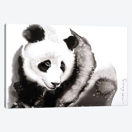 Cosy Panda II Canvas Print #LIM161} by Soo Beng Lim Canvas Art Print