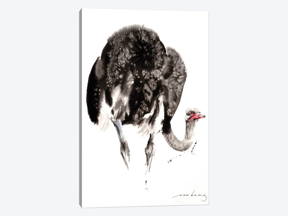 Ostrich by Soo Beng Lim 1-piece Canvas Wall Art