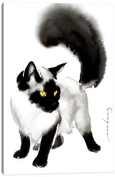 Plush Elegance II Canvas Art Print