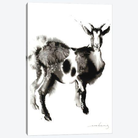 Goat Stance Canvas Print #LIM167} by Soo Beng Lim Canvas Art