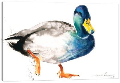 Duckie Canvas Art Print