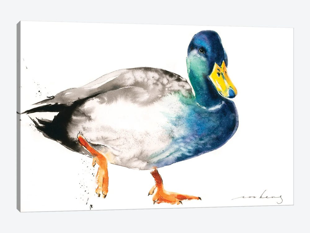 Duckie by Soo Beng Lim 1-piece Canvas Print