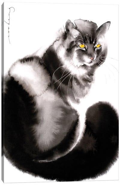 Kitty Welcome II Canvas Art Print