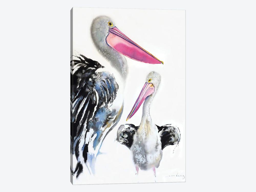 Pelican Majestic by Soo Beng Lim 1-piece Canvas Art Print