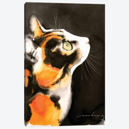 Night-Time Gazer Canvas Print #LIM176} by Soo Beng Lim Canvas Print