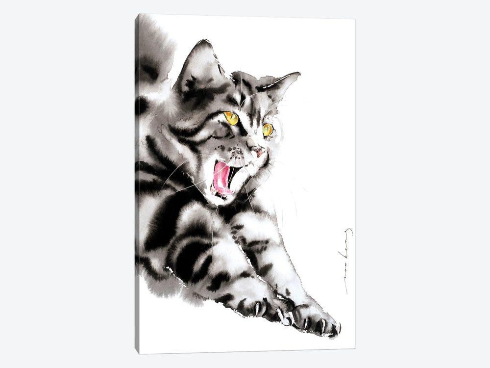 Blissful Yawn by Soo Beng Lim 1-piece Art Print