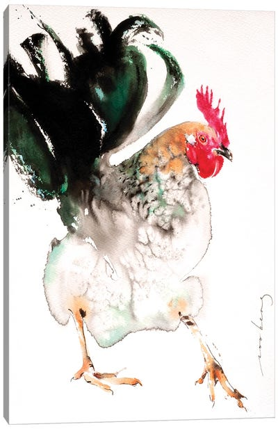 Best Foot Forward II Canvas Art Print