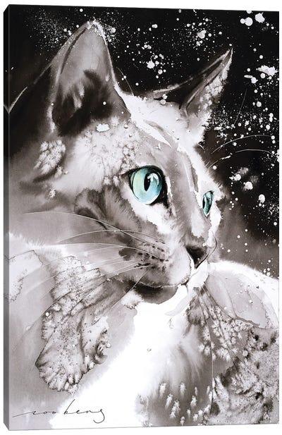 Cool Cat Canvas Art Print