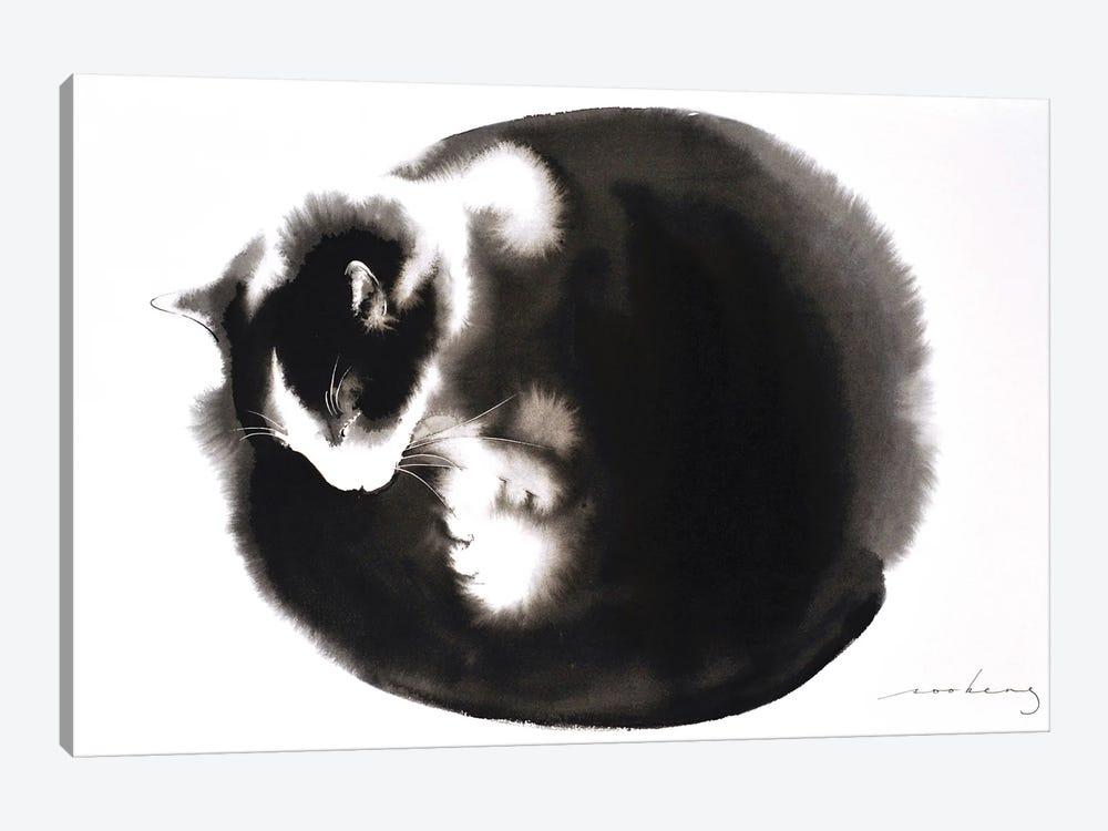 Kitty Ball Of Fur II by Soo Beng Lim 1-piece Canvas Wall Art