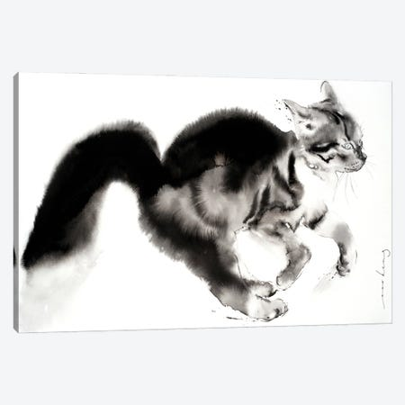Chaser Canvas Print #LIM186} by Soo Beng Lim Canvas Wall Art