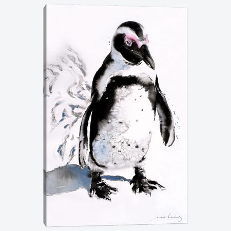 Penquin Footprint Canvas Print #LIM187} by Soo Beng Lim Canvas Wall Art