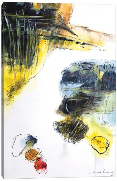 Coastal Headland V Canvas Art Print