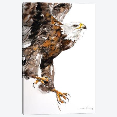 Eagle Power II Canvas Print #LIM199} by Soo Beng Lim Canvas Art