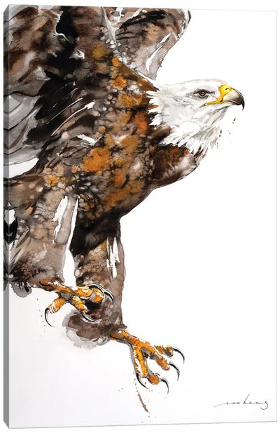 Eagle Power II Canvas Art Print
