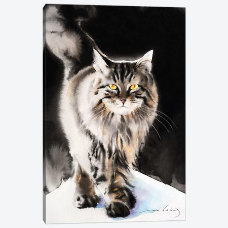 Cat Walk III Canvas Print #LIM19} by Soo Beng Lim Canvas Art