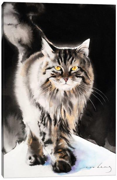 Cat Walk III Canvas Art Print