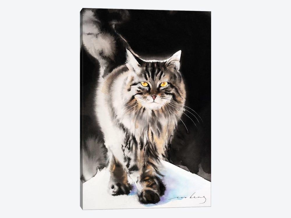Cat Walk III by Soo Beng Lim 1-piece Canvas Wall Art