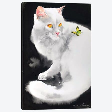Flighty Moment Canvas Print #LIM203} by Soo Beng Lim Canvas Art