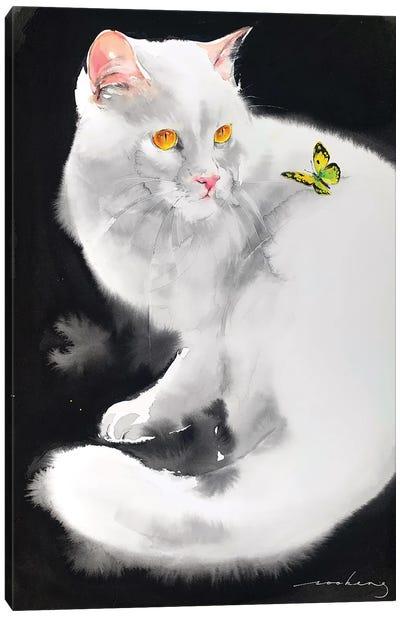 Flighty Moment Canvas Art Print