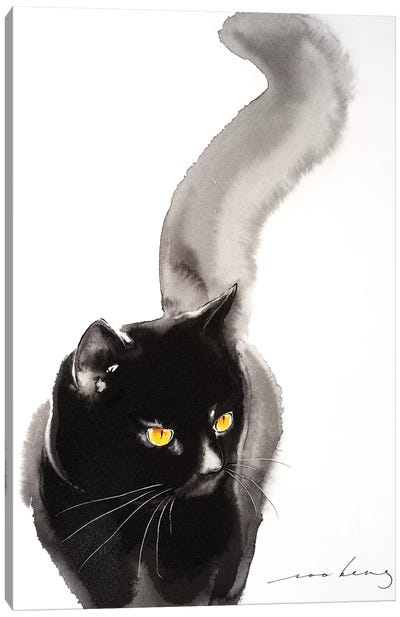 Cat Walk IV Canvas Art Print