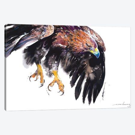 On Eagle Wing II Canvas Print #LIM213} by Soo Beng Lim Art Print
